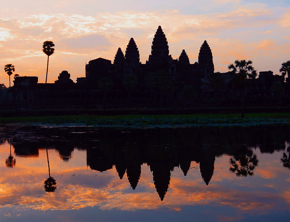 Angkor Wat - Sonnenaufgang