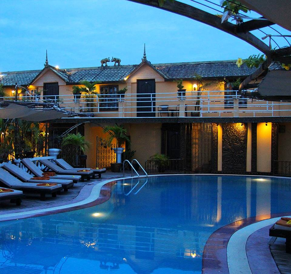 Terrasse Des Elephants Hotel Siem Reap