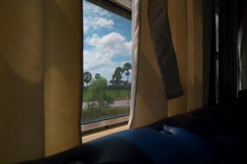Zug von Phnom Penh nach Kampot