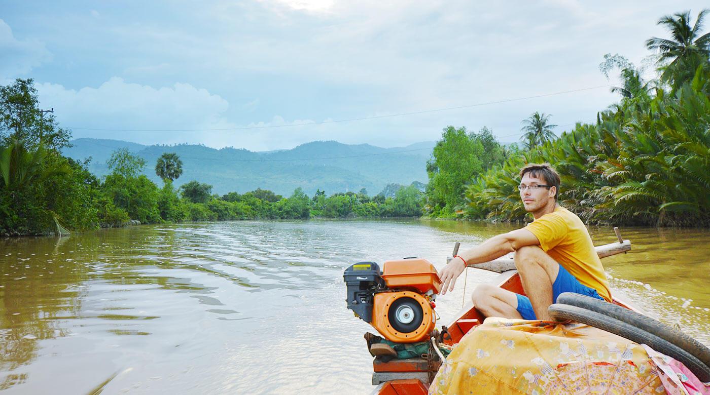 Bootsfahrt mit Björn – Kampot Tour Teil 1