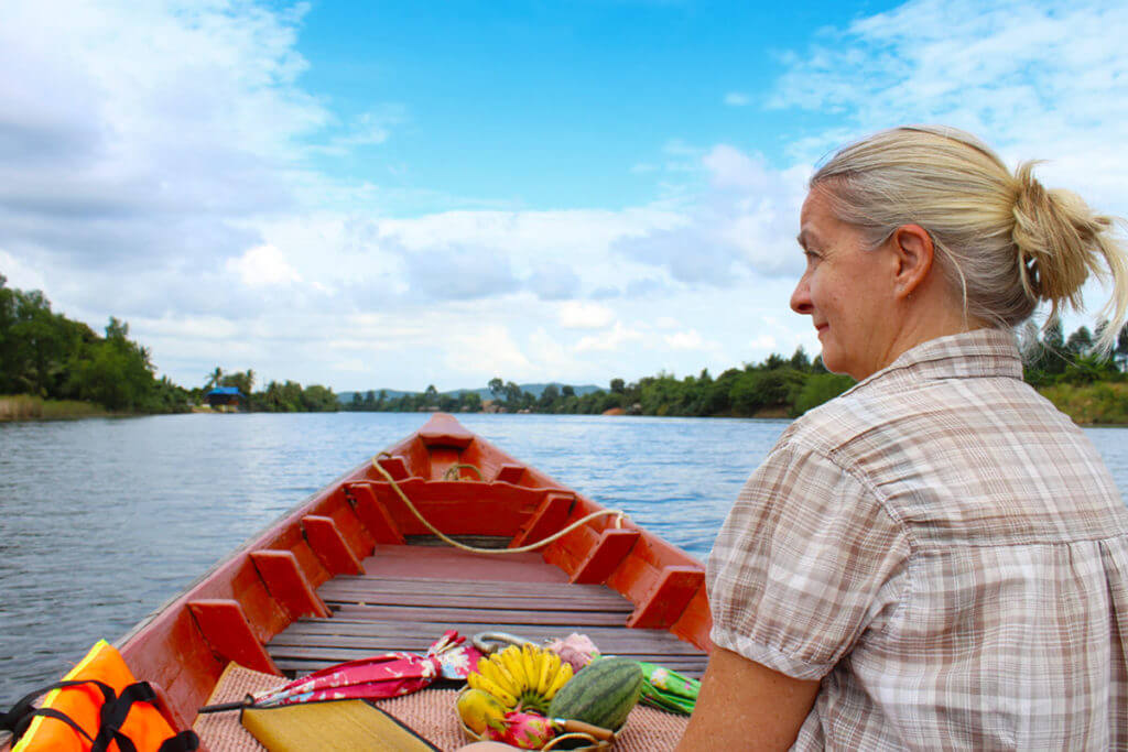 Kampot River - Bootstour - Inga