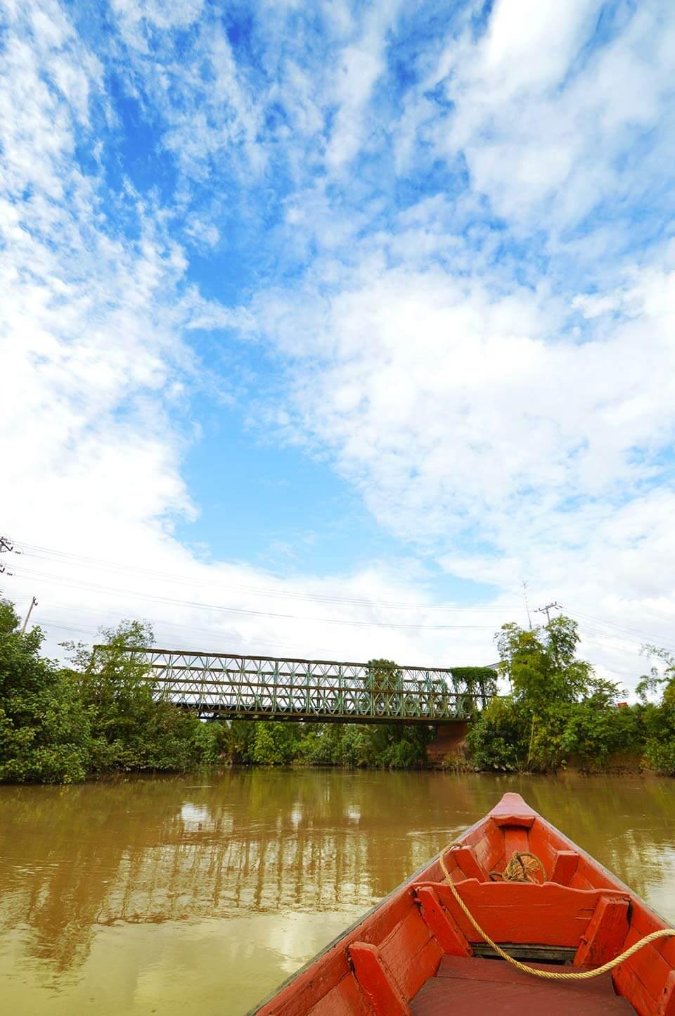 Love The River - Bootstour - Kampot River, Kambodscha