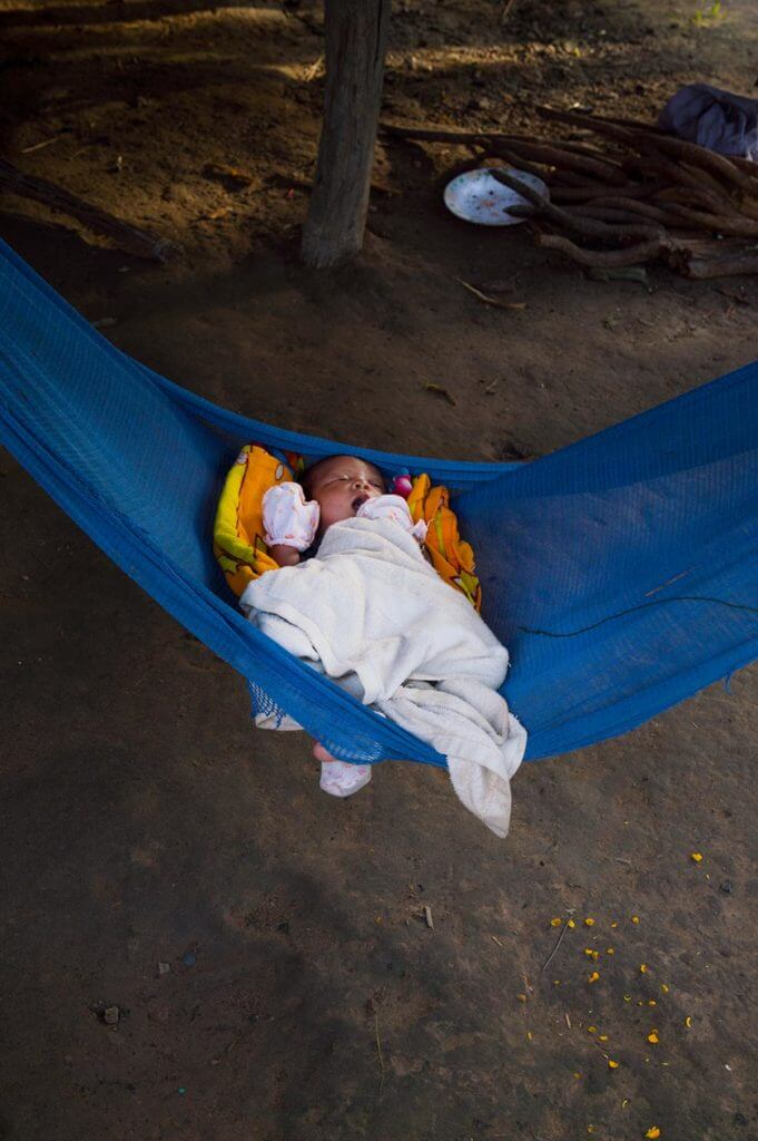 Baby - Leang Dai Community, Kambodscha