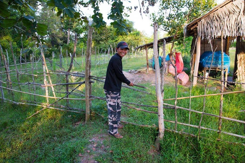 Community Garten - Long Dai Community, Kambodscha