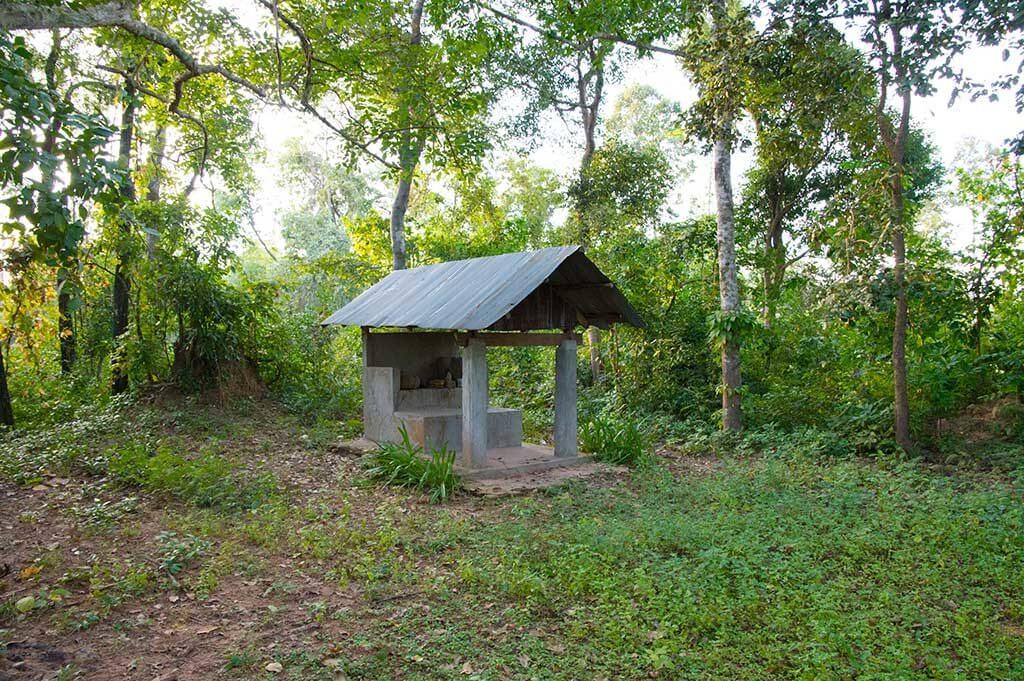 Schrein, Leang Dai Community, Kambodscha