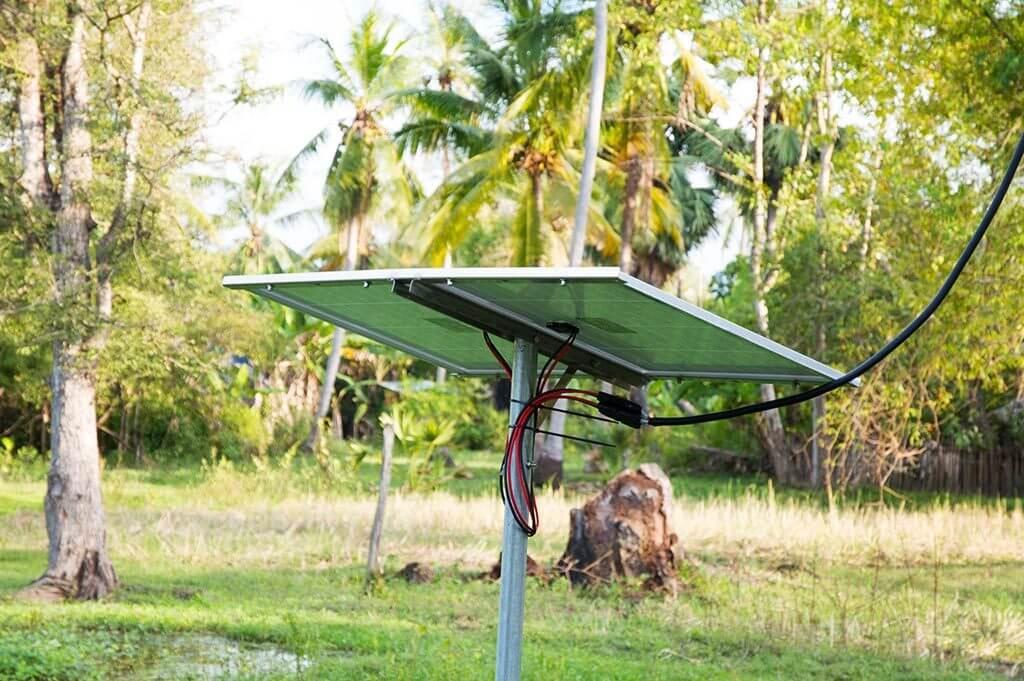 Solaranlage - Leang Dai Kommune, Kambodscha