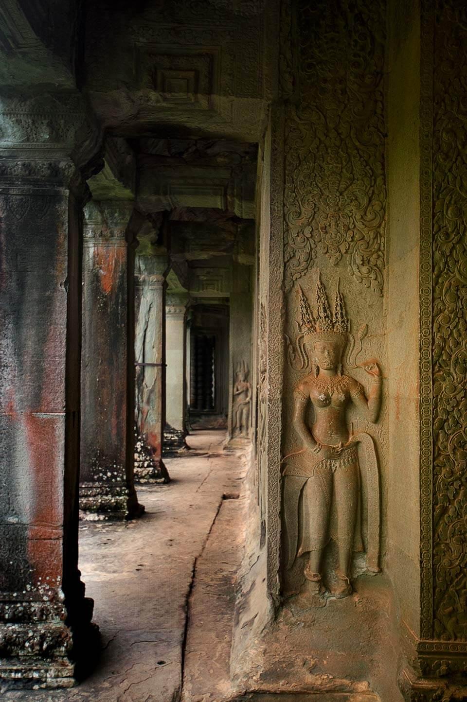 Angkor Wat, Eckgalerie Devata