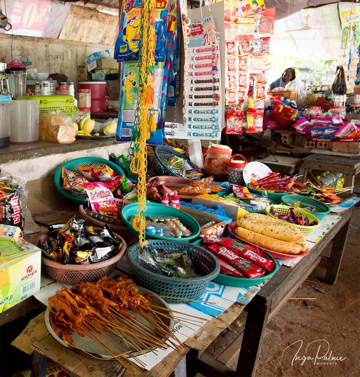 Marktstand von Sokhas Mama