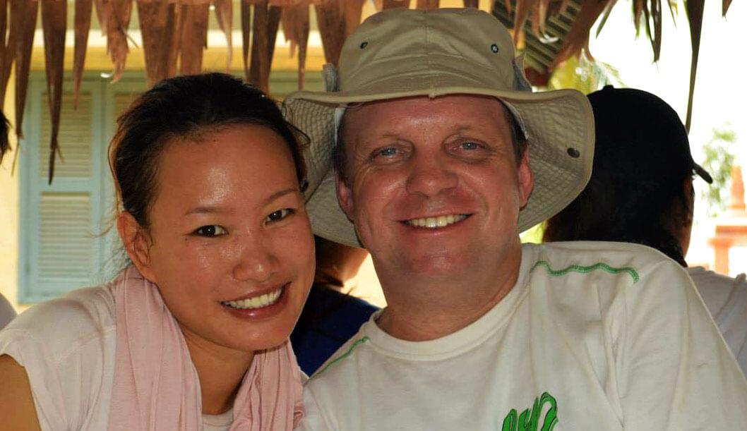 Lily und Andre von Cambodian Travel Partner