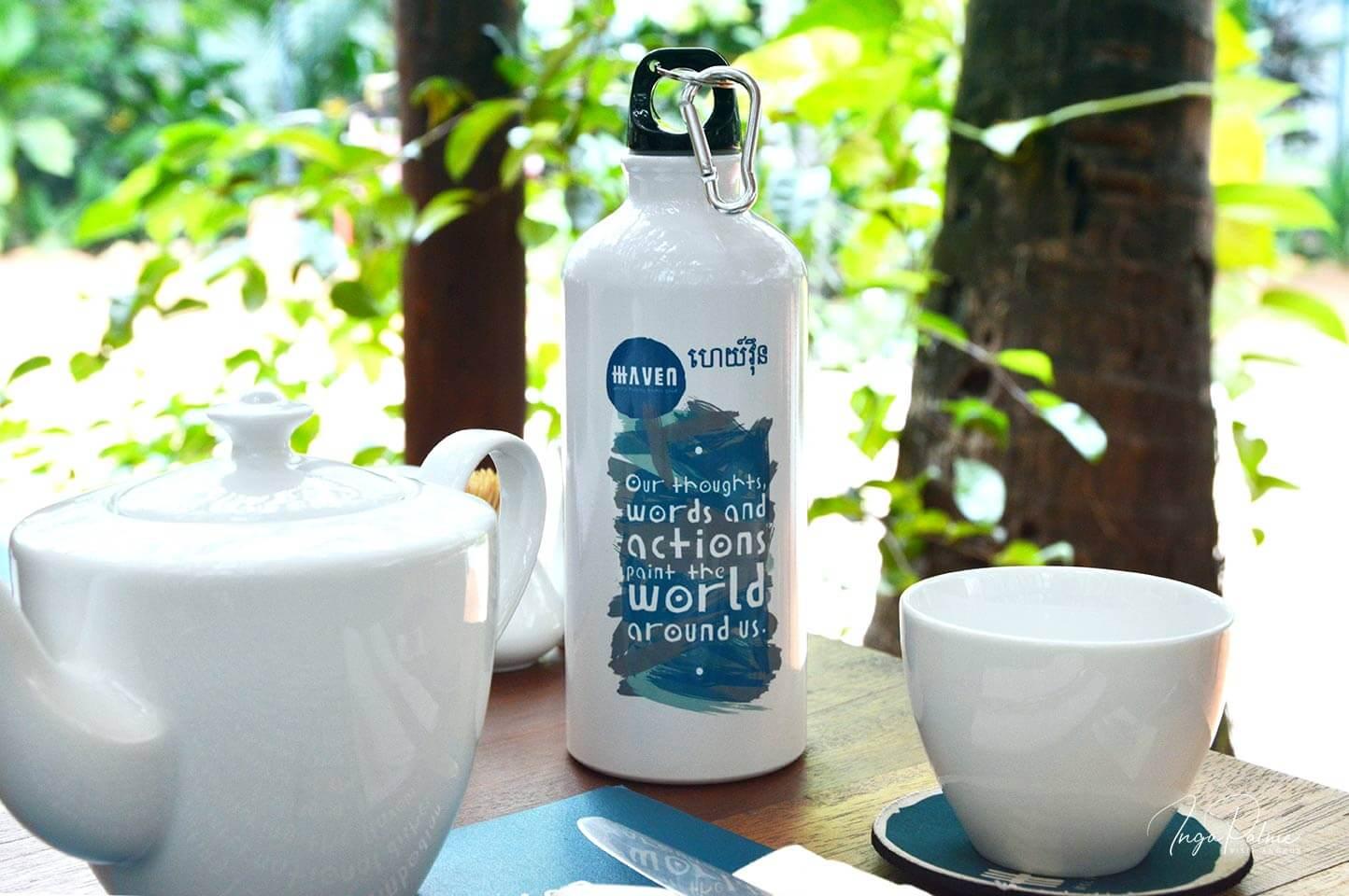 Refill not Landfill Siem Reap - wiederbefüllbare Flasche