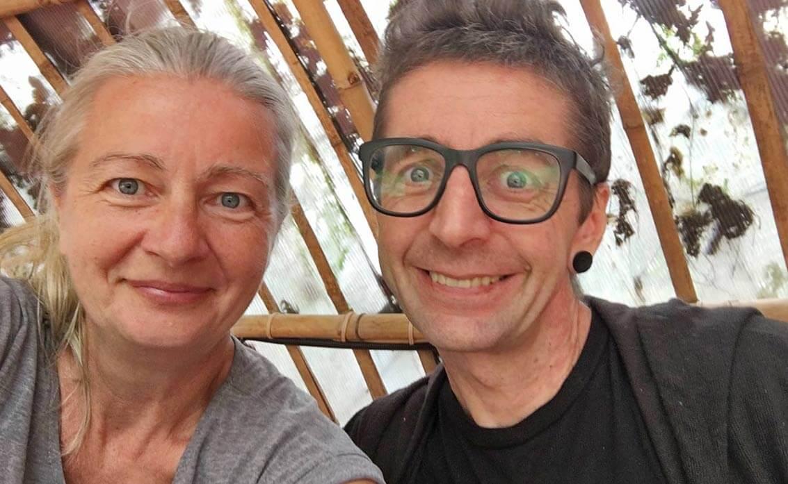 Inga und Paul - Haven Restaurant Siem Reap
