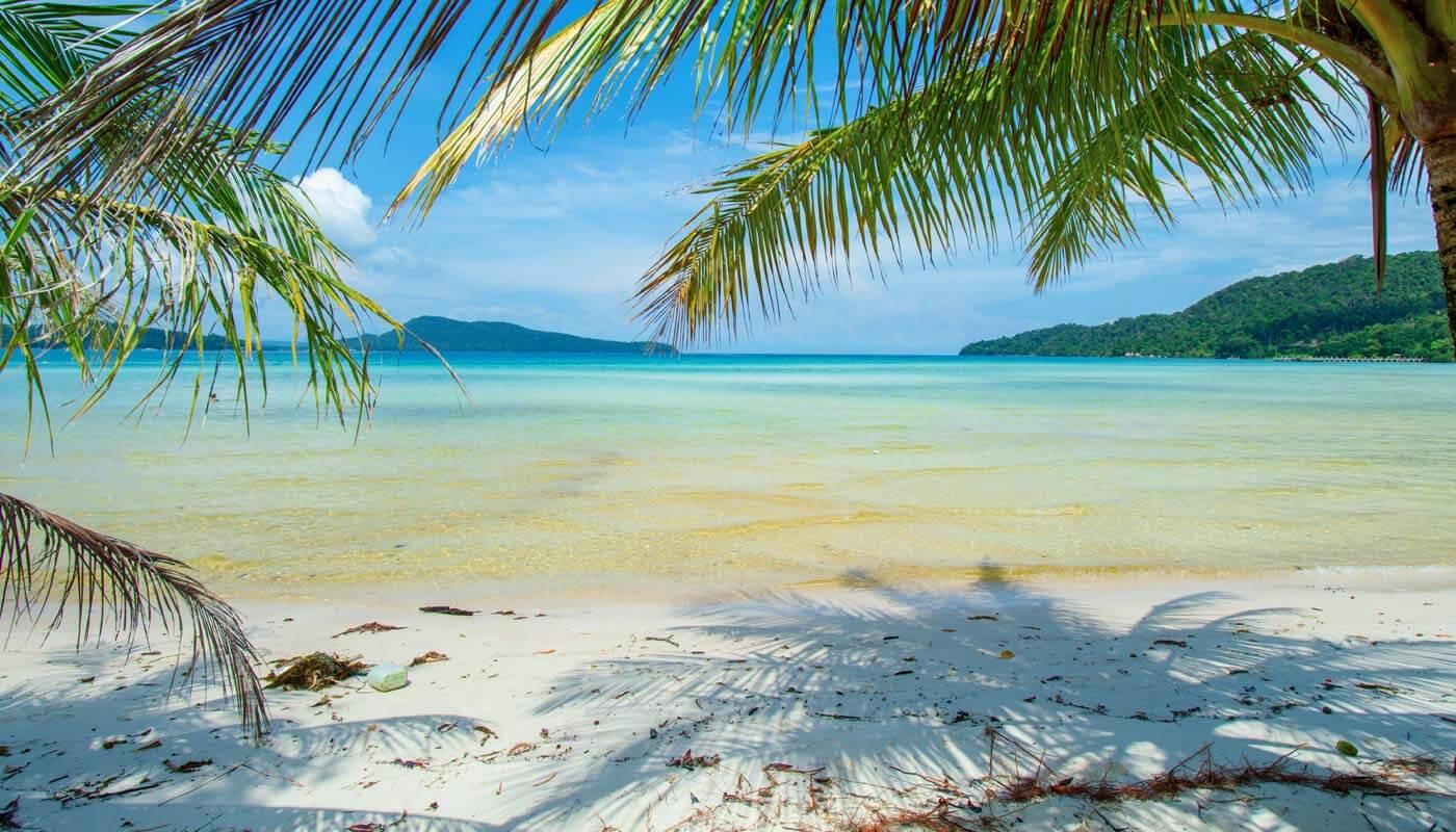 Koh Rong Sanloem, Saracen Bay Beach