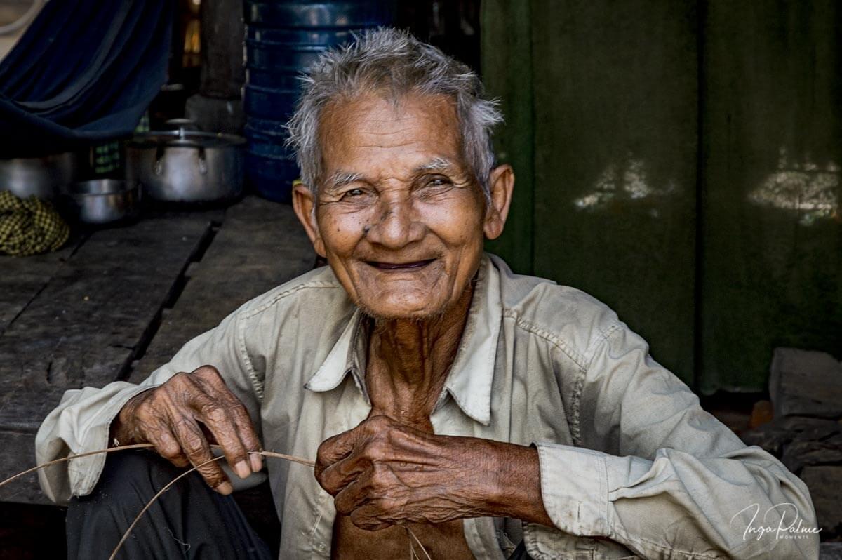 Korbflechter - Siem Reap