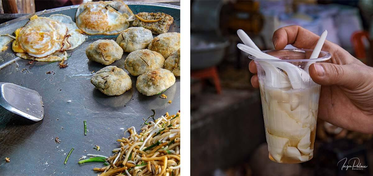 Frühstück - Lot Char, Pshar Leu Markt Siem Reap