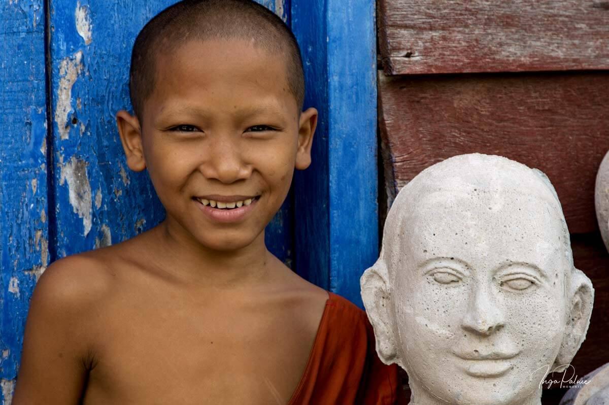 Mönch - Junge in Siem Reap, Kambodscha