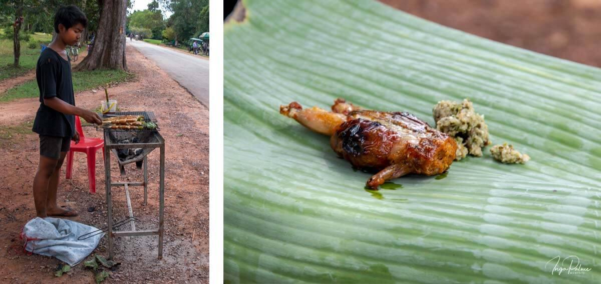 Streetfood Frösche - Siem Reap, Tour Dani Jump