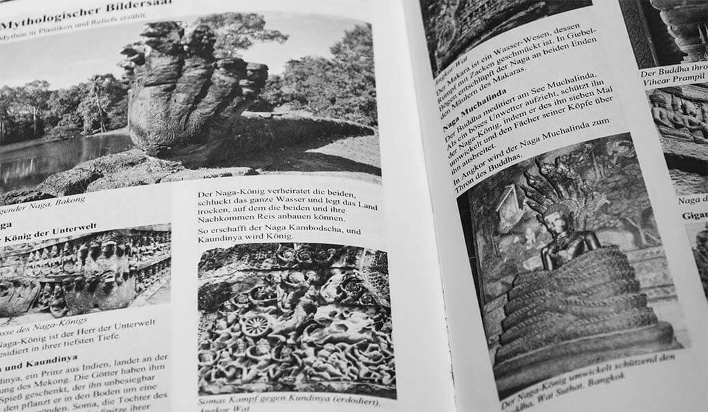 """Mythologischer Bildersaal im """"Angkor Taschenbuch"""" von Reinhart Zieger"""