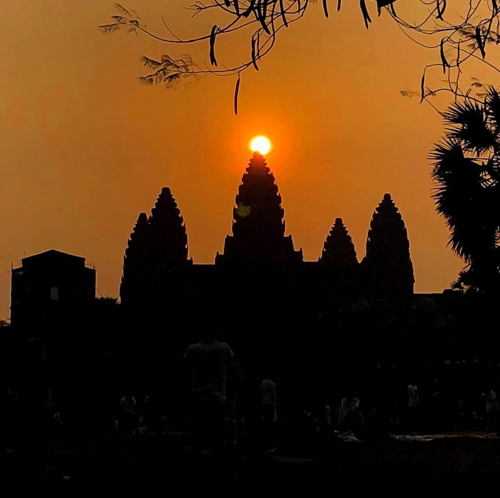 Sonnenaufgang Angkor Wat | Ratanak Eath