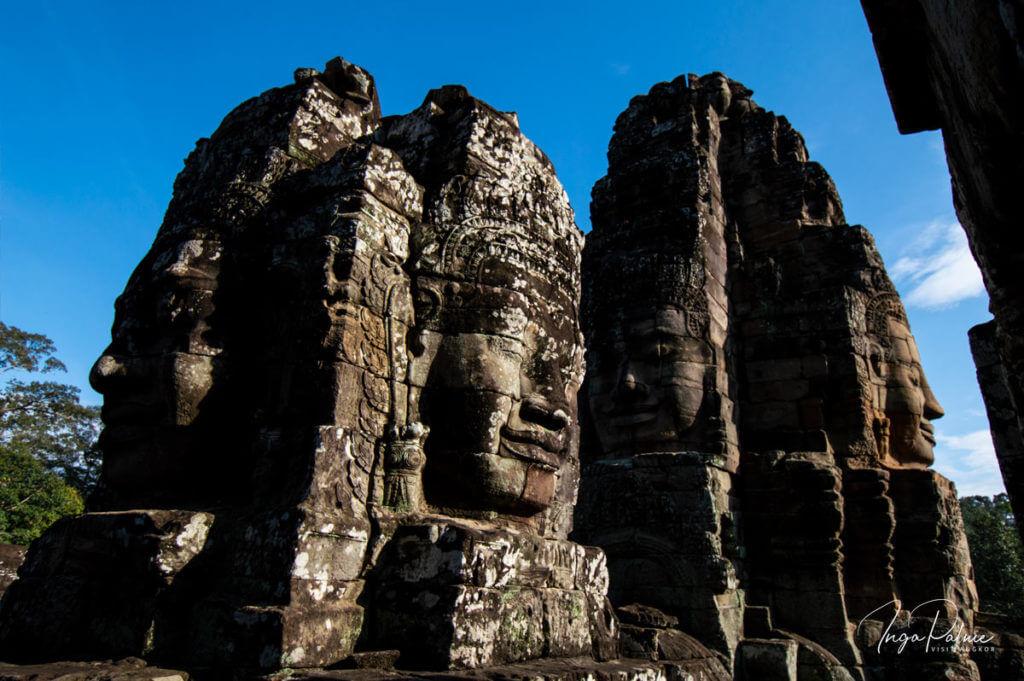 Bayon: Lächelnde Gesichter Bodhisvatta Lokeshvara