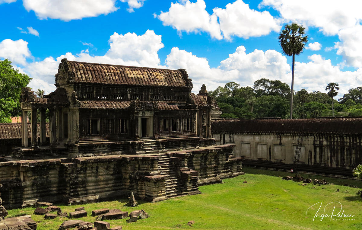 Angkor Wat - Bibliothek, Architektur