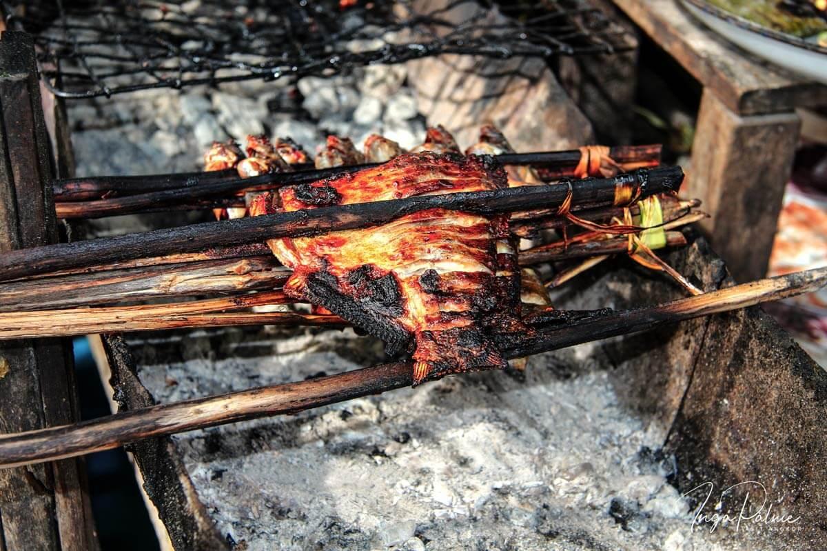 Barbecue - Spieß, Angkor Wat