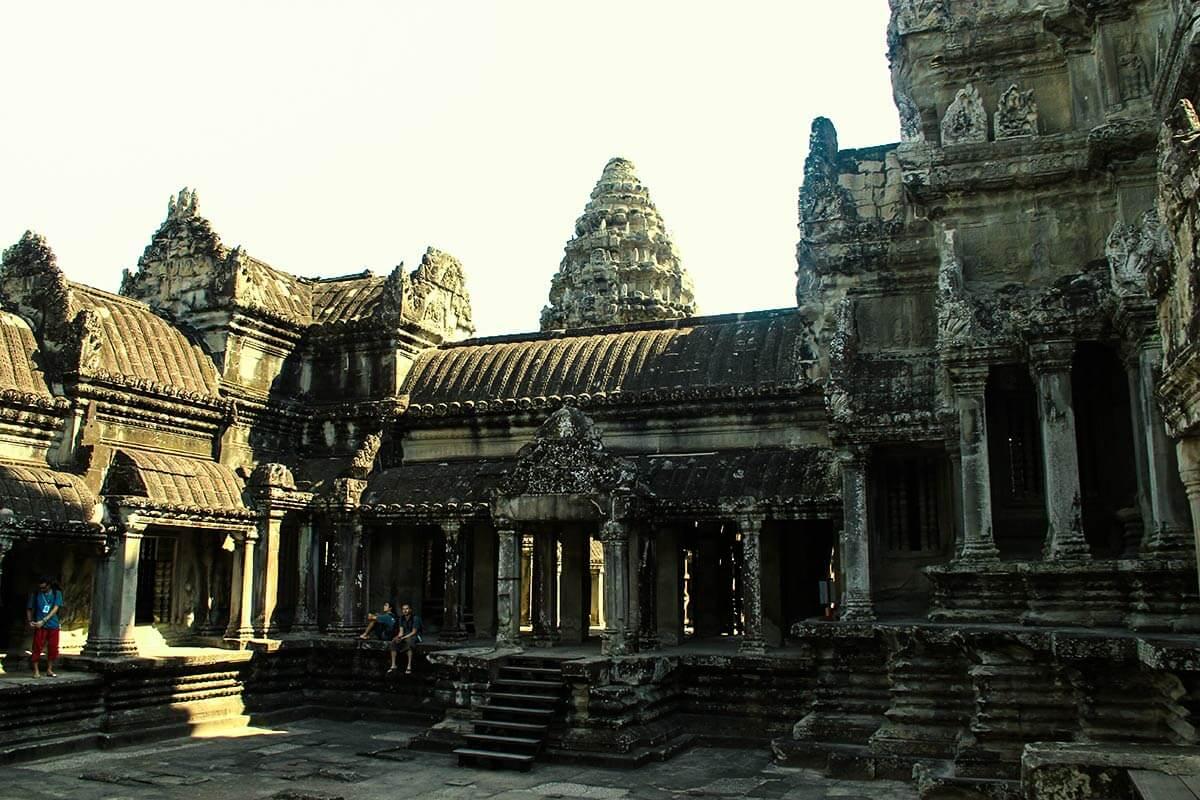 Angkor Wat - Heiligtum - Quinkunx