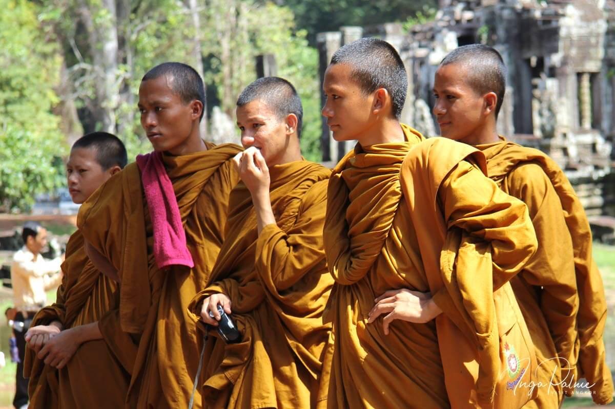 Angkro Wat - junge Mönche