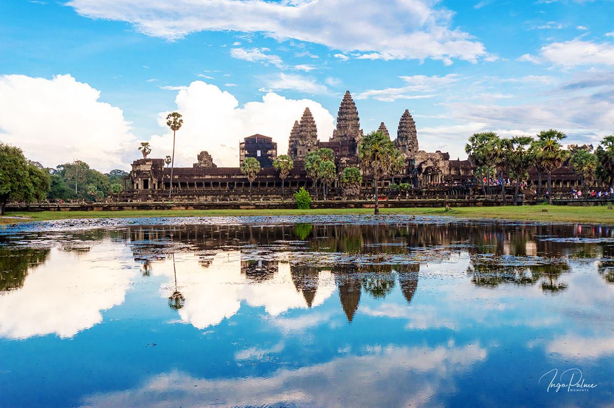 Angkor Wat - Westseite am Nachmittag