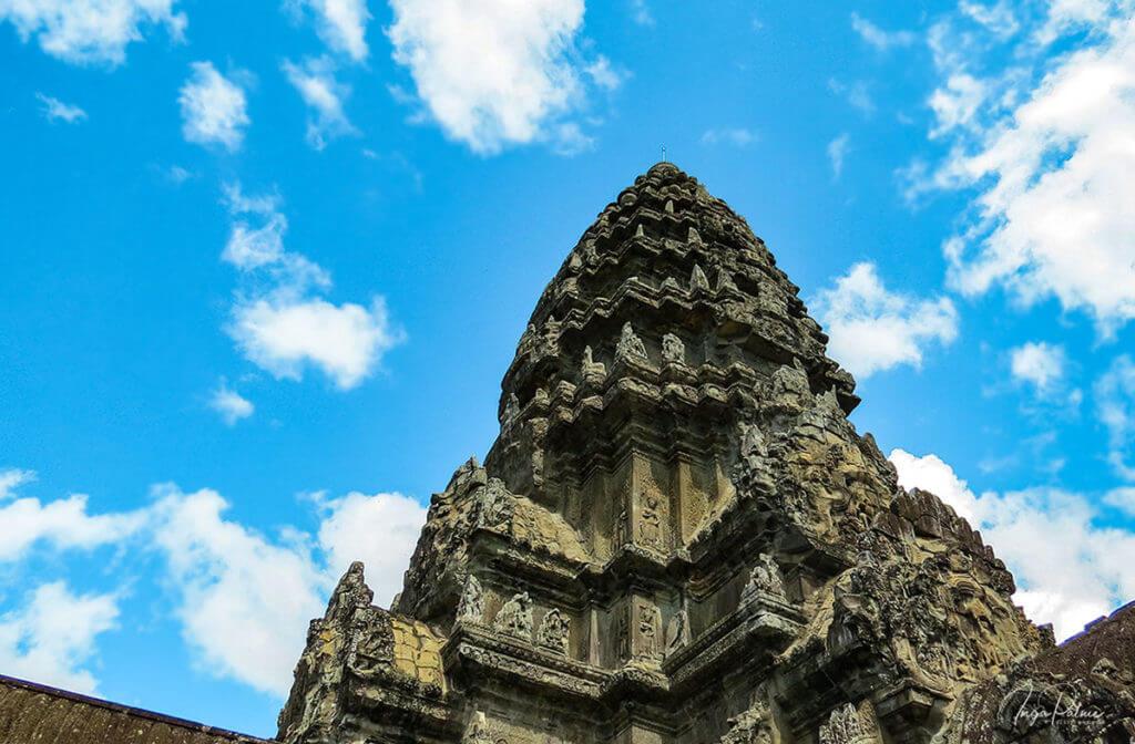 Zentraler Turm im Quincunx von Angkor Wat