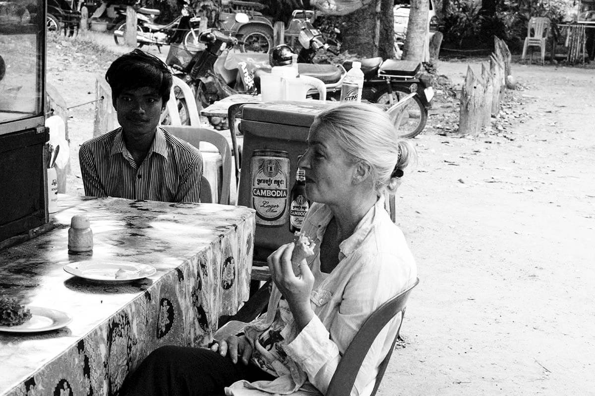 Frühstück Inga Angkor Wat SW