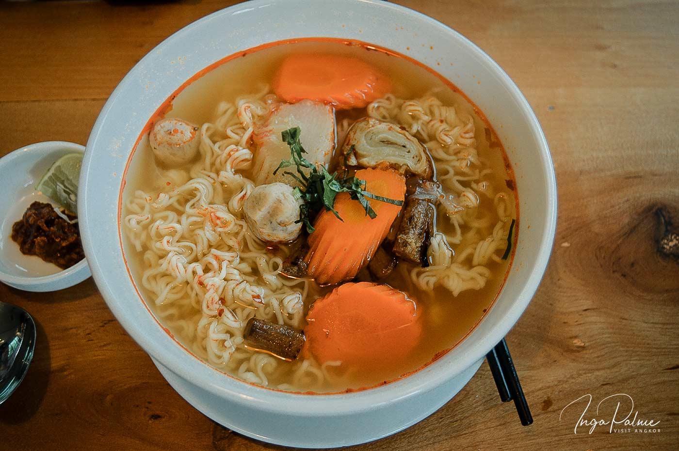 Frühstücken in Phnom Penh – das '126' The Noodle Factory