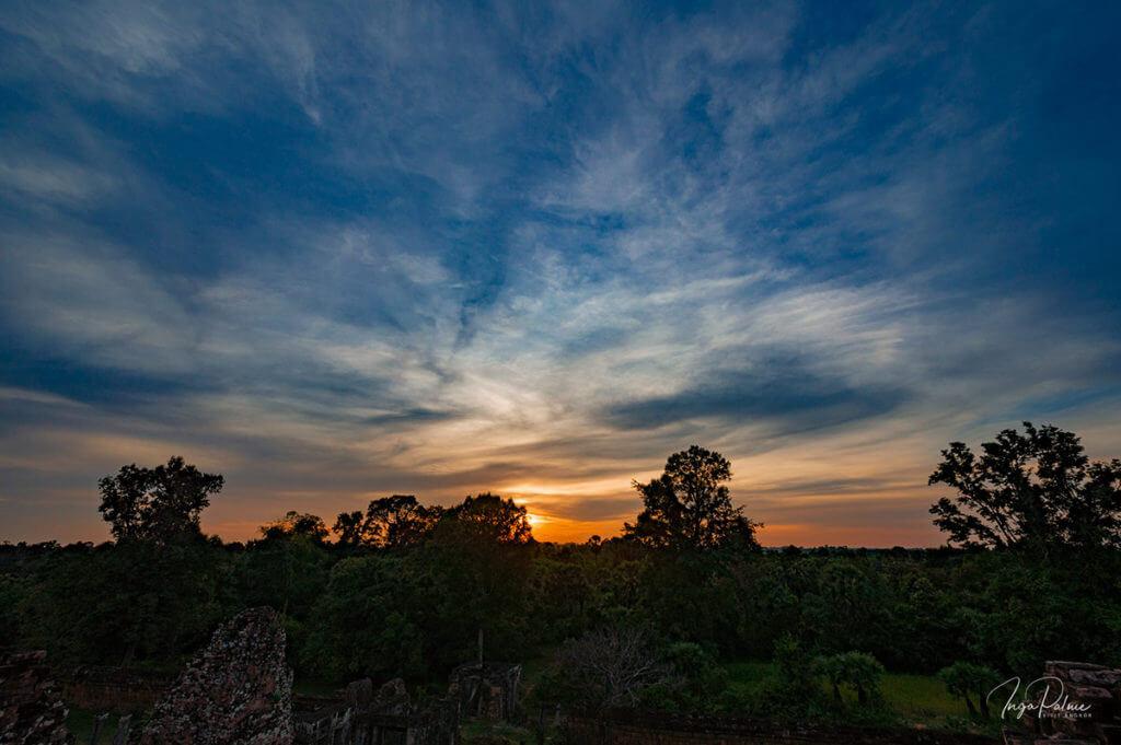 Sonnenuntergang Pre Rup