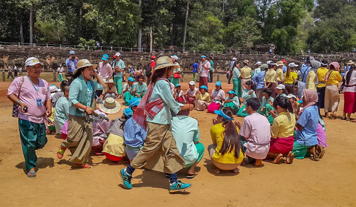 Neujahr in Kambodscha: Die schönsten traditionellen Spiele