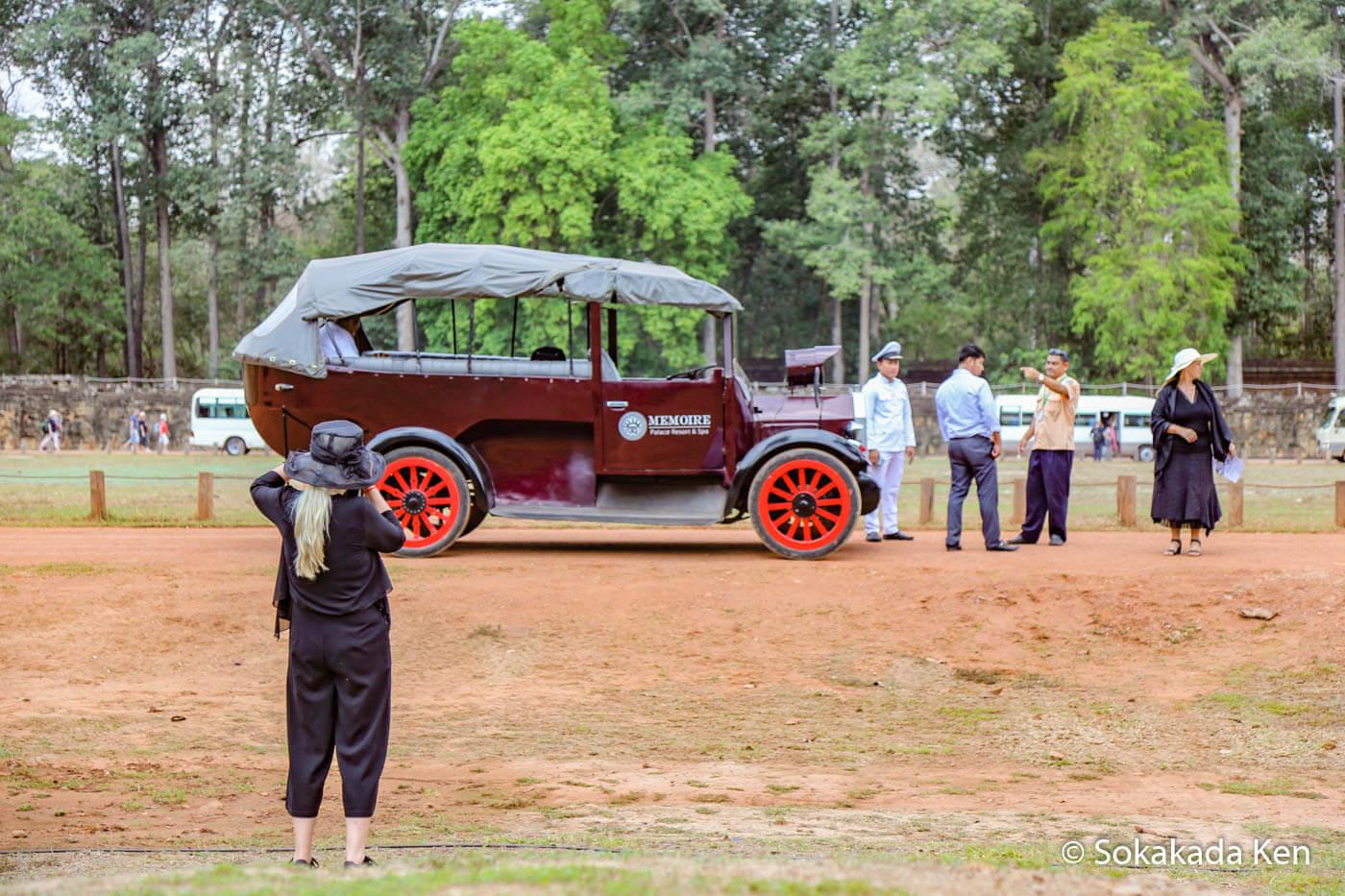 Stilvoll durch den Angkor Park: Mit 'nem Masthead 1902
