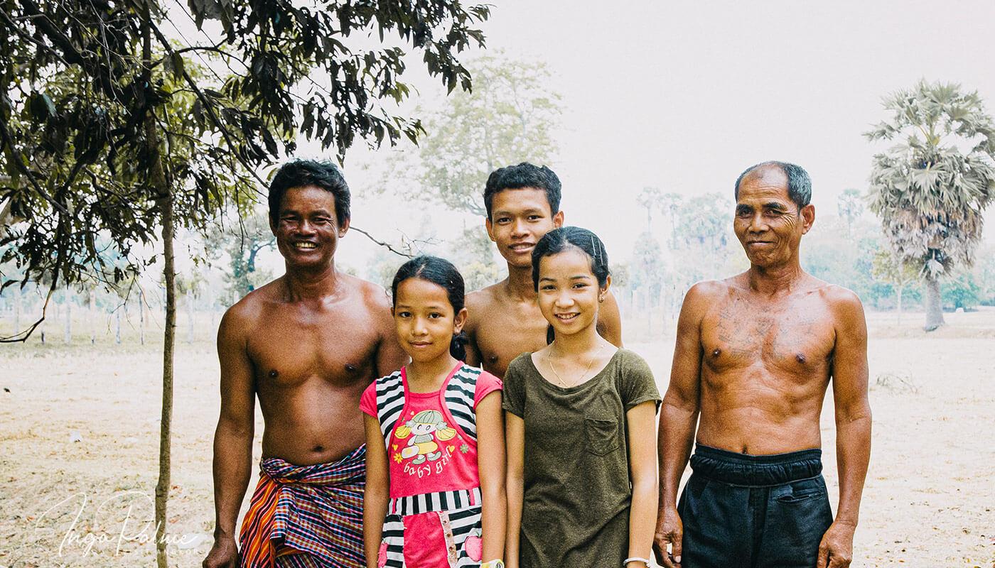 Wie eine dünne Kuh den Anstoß gegeben hat, das Leben einer Khmer-Familie zu ändern