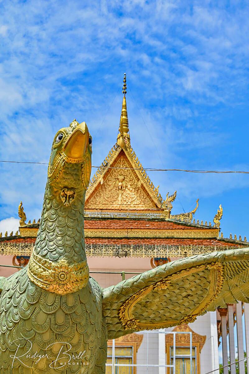 Buddhismus: Pagode in Kambodscha