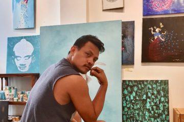 DIN Taeng Borin - ein kambodschanischer Maler