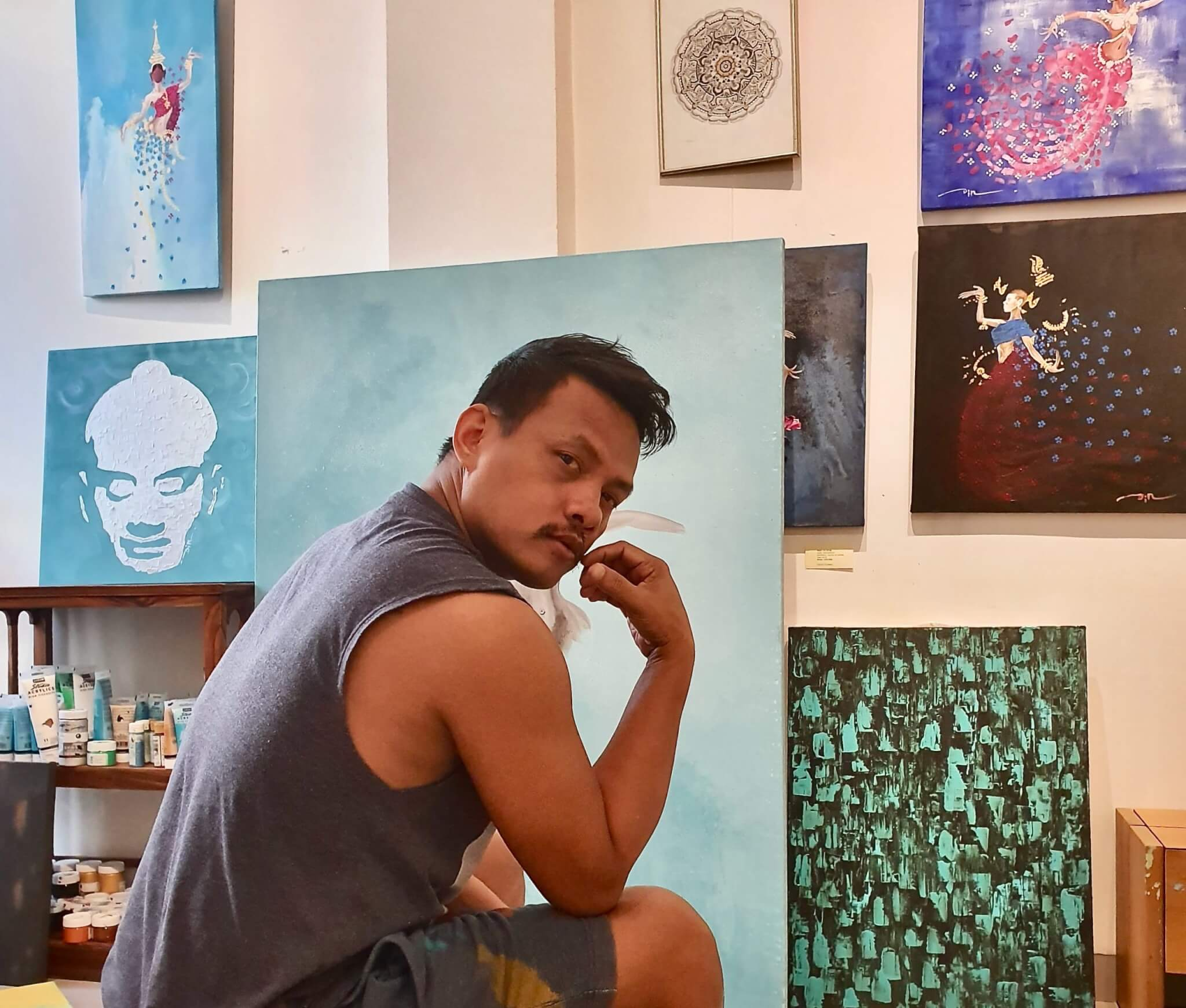 'DIN' Teang Borin – ein kambodschanischer Maler