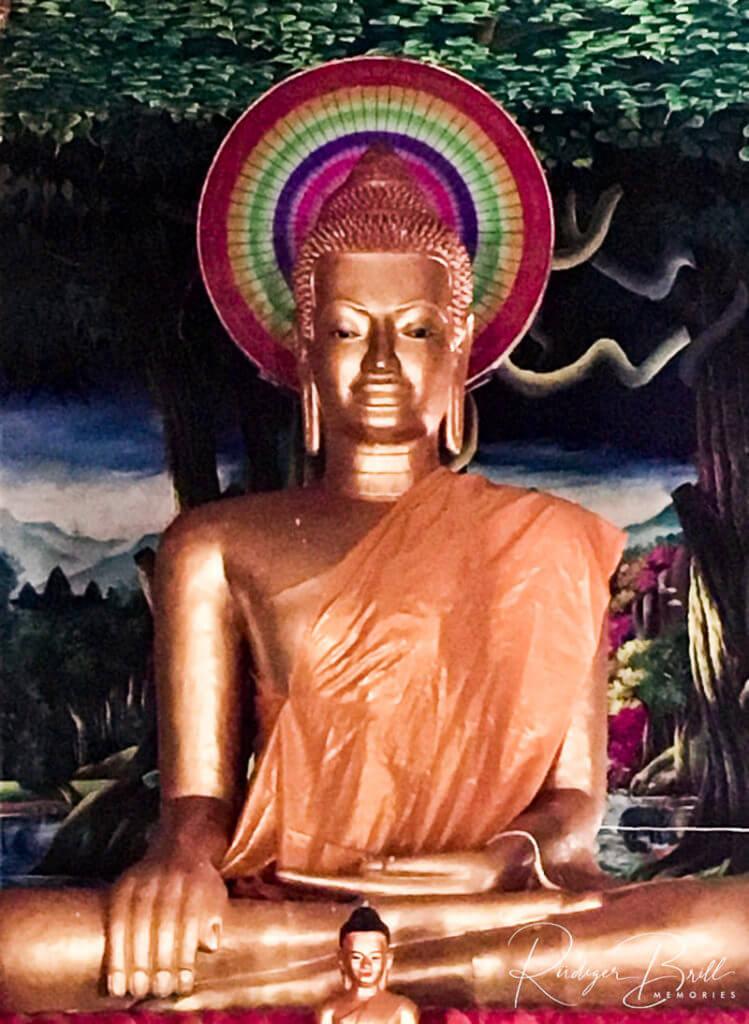Der Marvirak Chey Mutrea - Buddha Geste