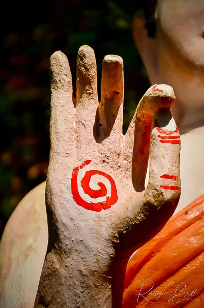 Der Thormachak Mutrea - Buddha Geste