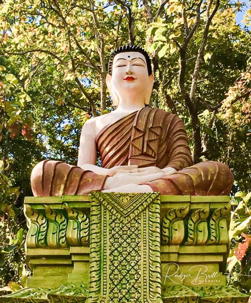 Der Vitkak Mutrea - Buddha Geste