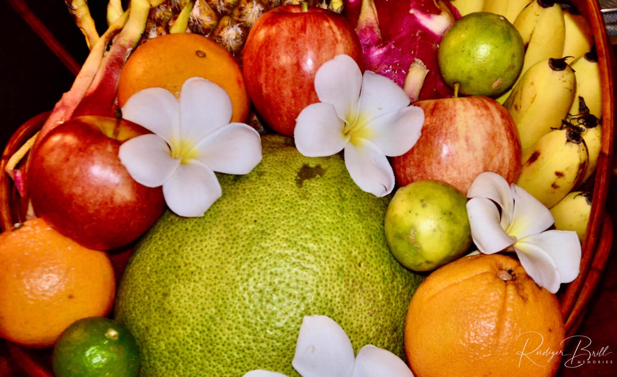 Früchte in Kambodscha