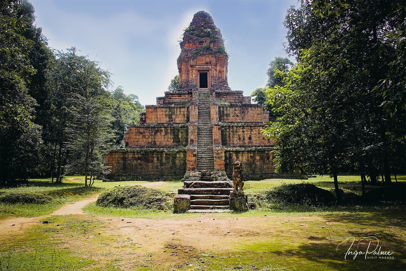 Baksey Chamkrong Angkor Tempel
