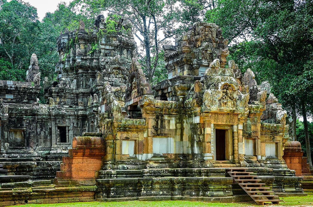 Chau Say Tevoda - Angkor Tempel, Kambodscha
