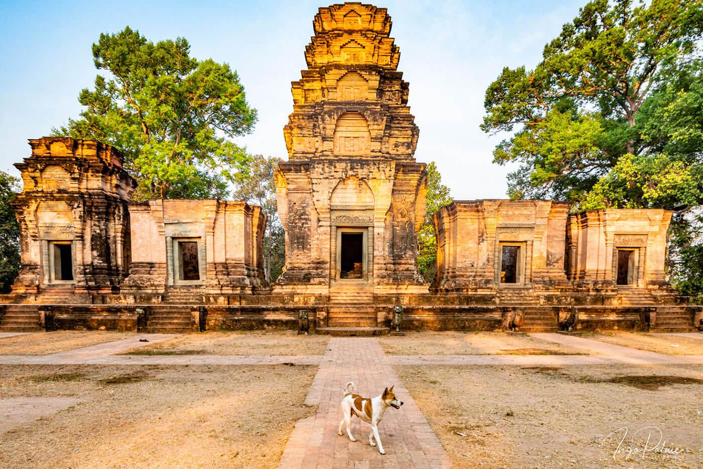 Prasat Kraven Tempel in der frühen Morgensonne