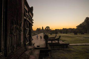 Angkor Wat - nur wenig Besucher