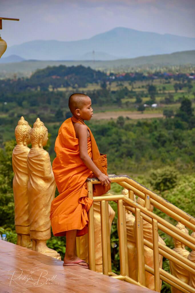 Moench am Wat Puth Kiri