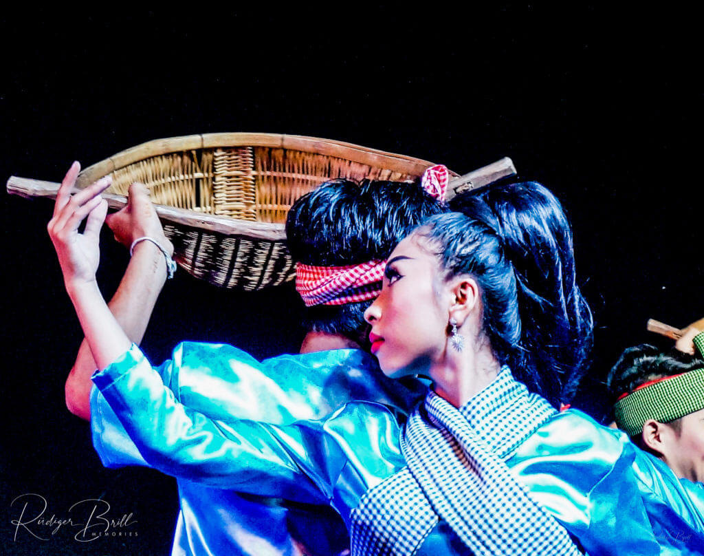 Traditionelle Tanzshow – Nationalmuseum Phnom Penh