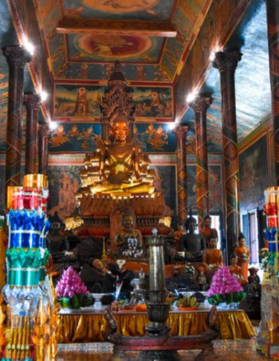 Innenansicht - Wat Phnom in Phnom Penh, Kambodscha