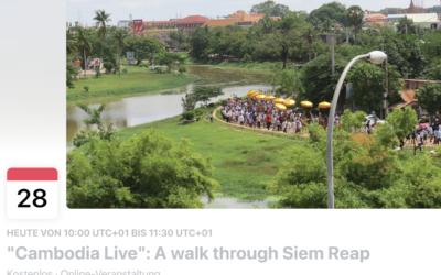 Siem Reap – Stadtrundgang in Corona-Zeiten